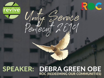 Unity Service with Debra Green 9 Jun