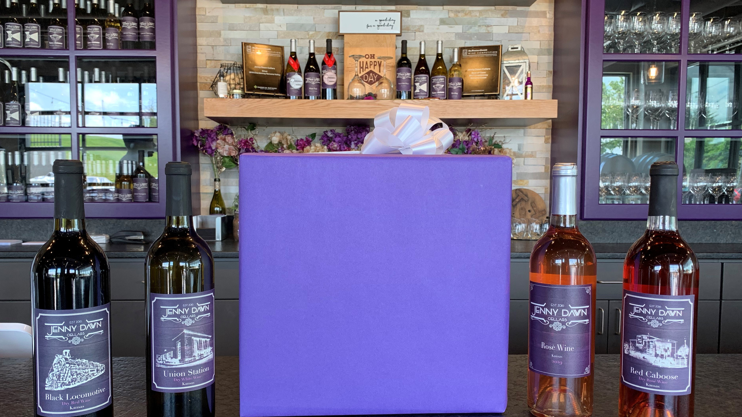 The Rosé and Trains Gift Box
