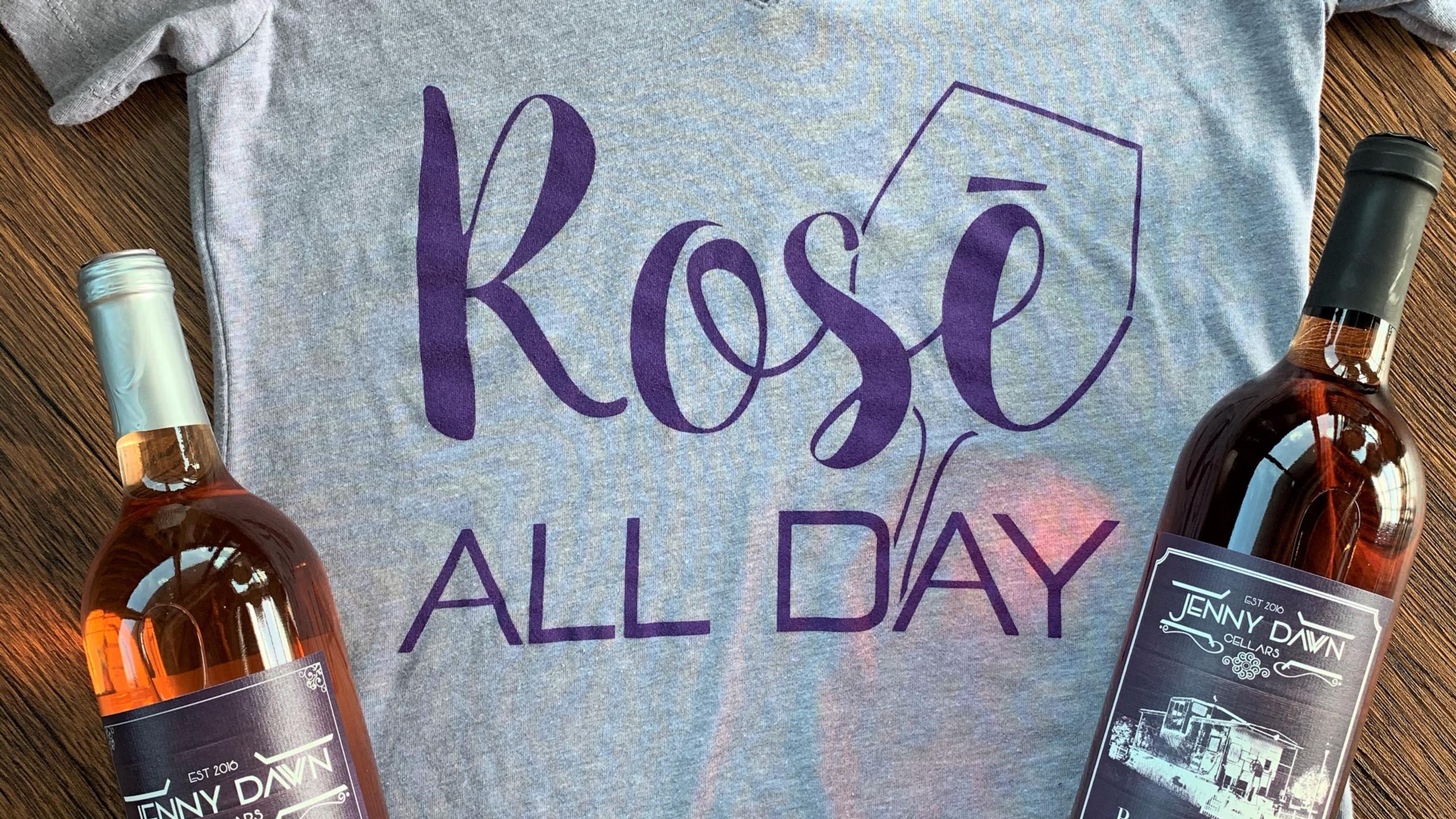 Rosé All Day Shirt