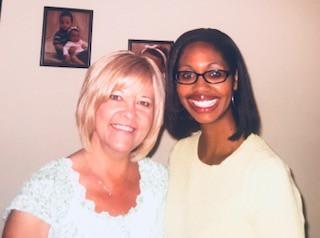 Jennifer McDonald and her mother making wonderful Mother-Daughter memories!