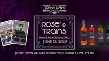 *Updated*! Rosé and Trains Wine Release Party June 13th