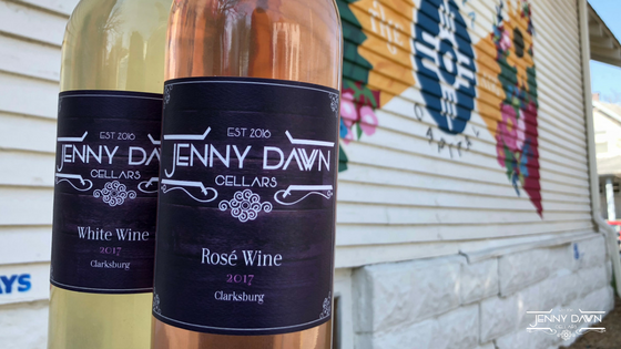 Introducing Jenny Dawn Cellars Rose and White Wines!