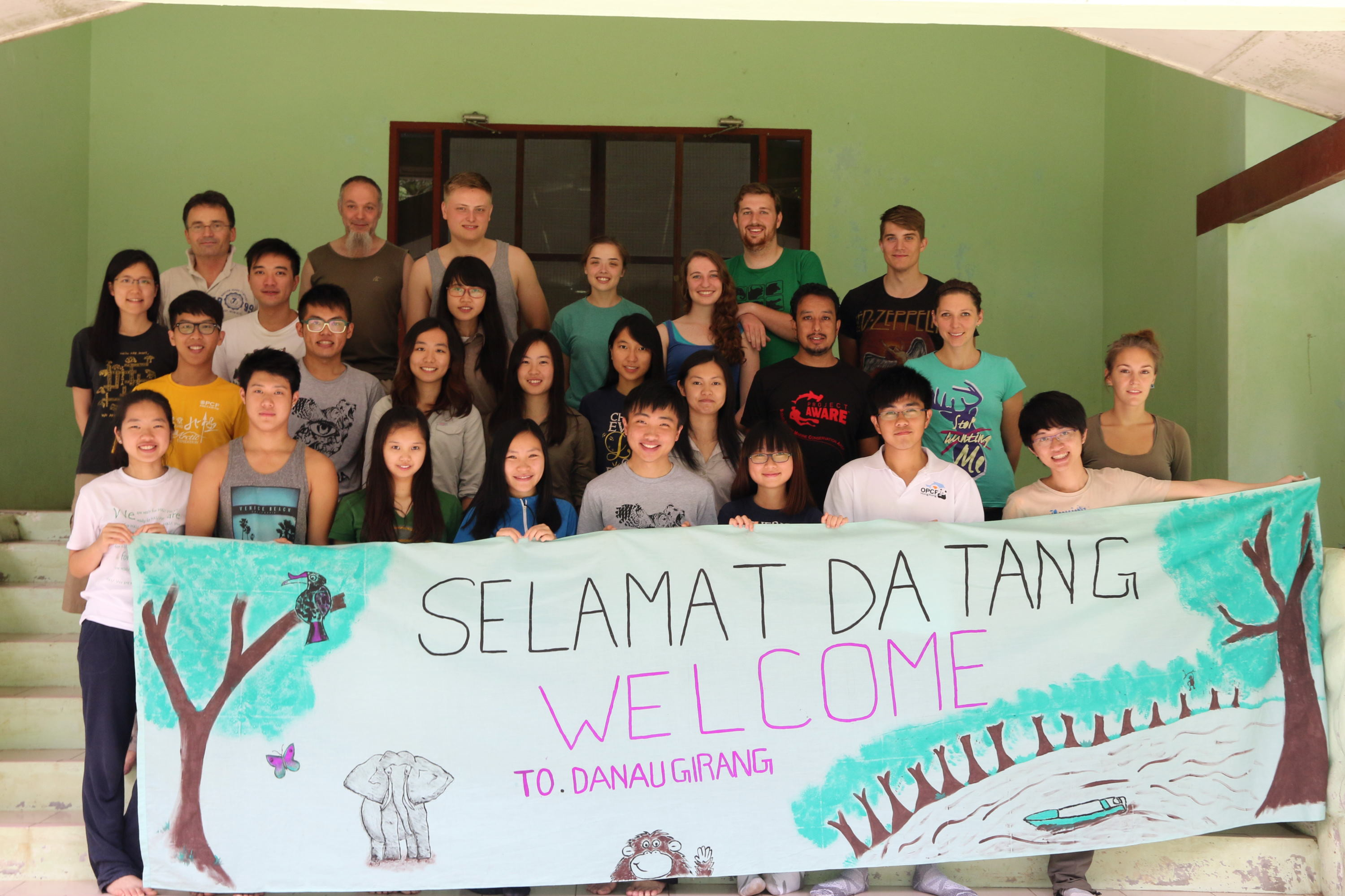 Animal Behaviour Field Course 2015 at Danau Girang Field Centre, Sabah
