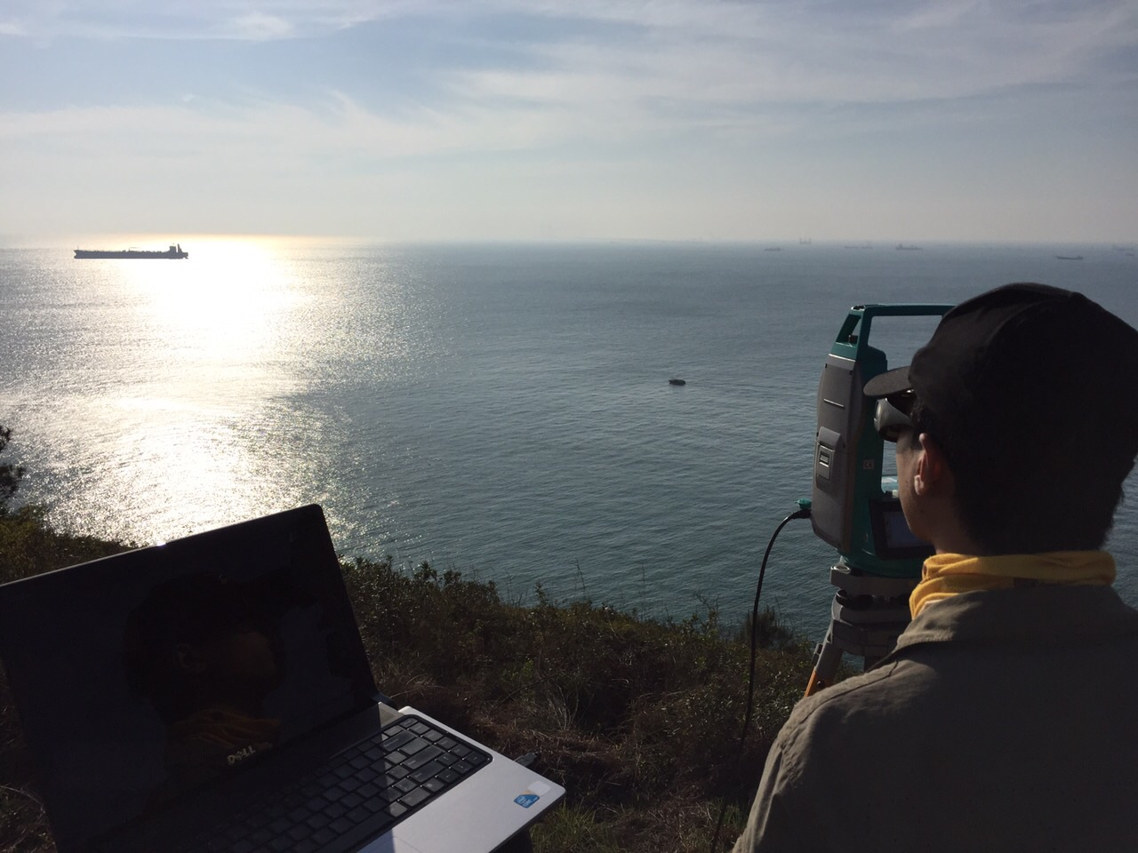 Field work in Tai O Peninsula