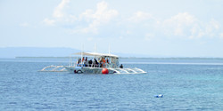 Our floating classroom, Philippines