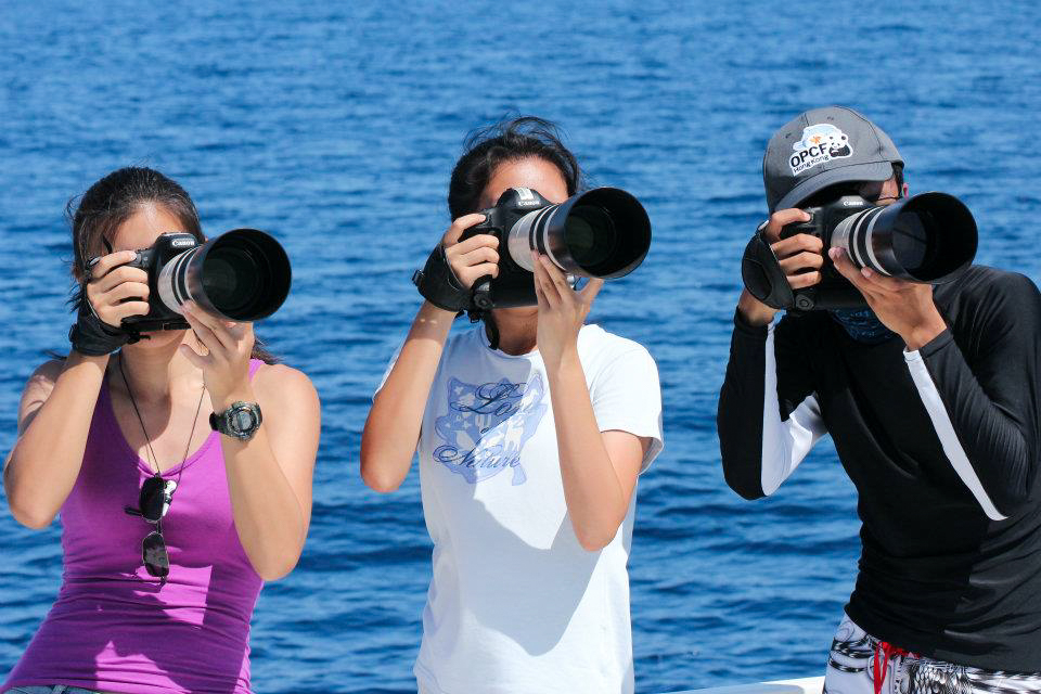 Eager photo-ID photographers, Philippine