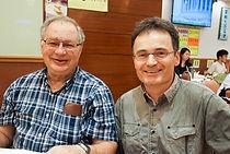 Wayne Getz and Leszek Karczmarski at the