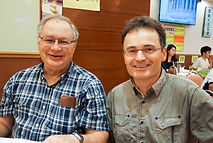 Wayne Getz and Leszek Karczmarski at the