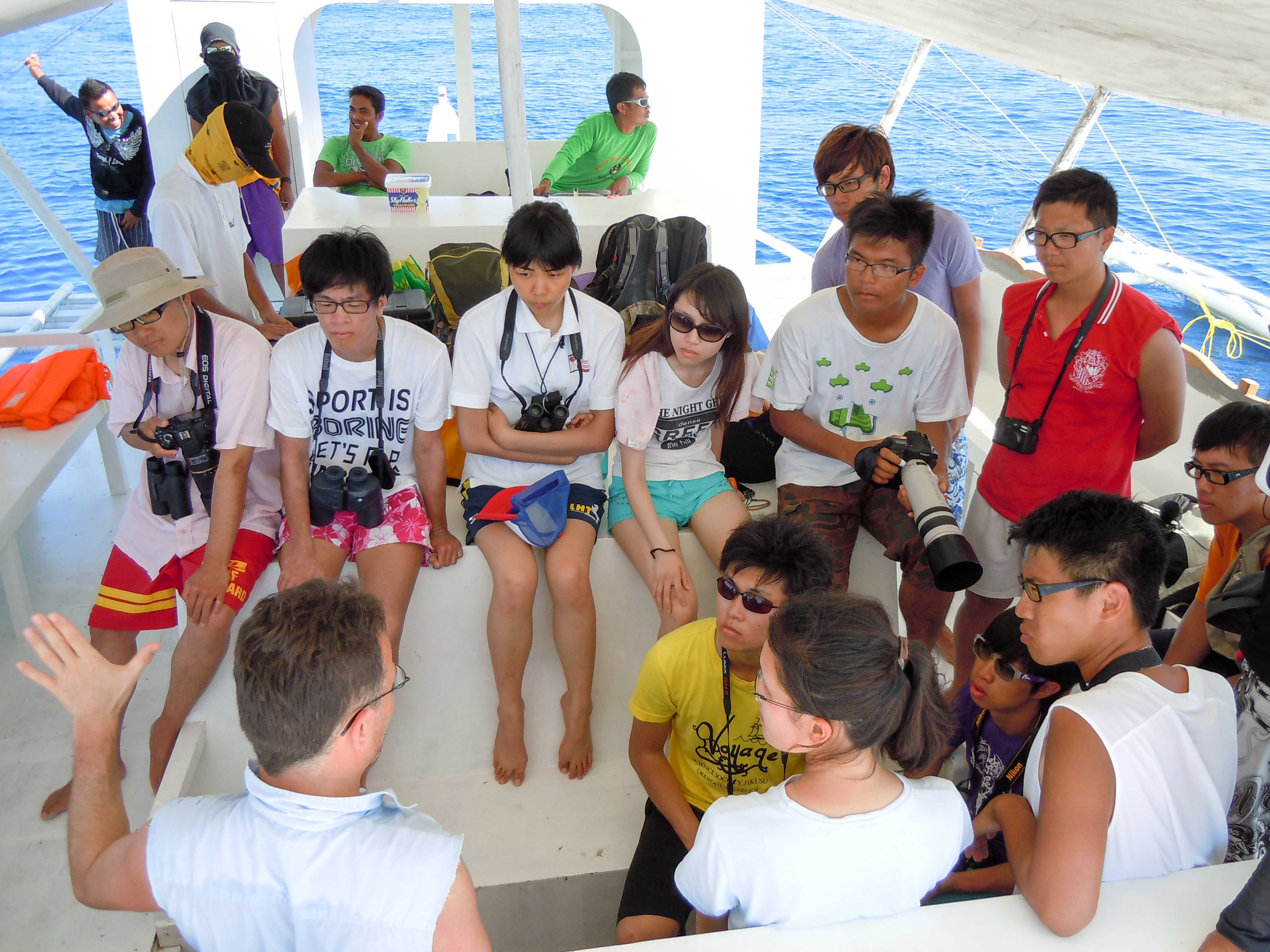 Field class, Philippines 2012