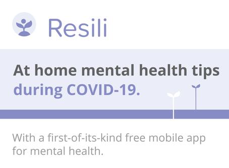 At-home mental health tips # 1