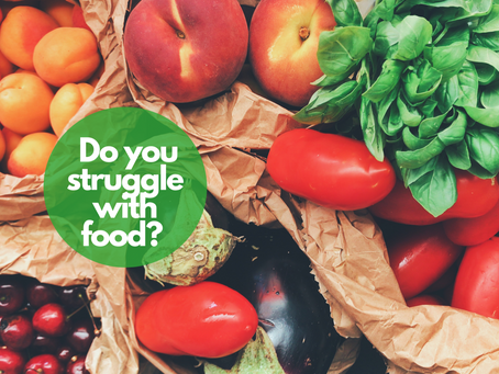 Do you struggle with food?