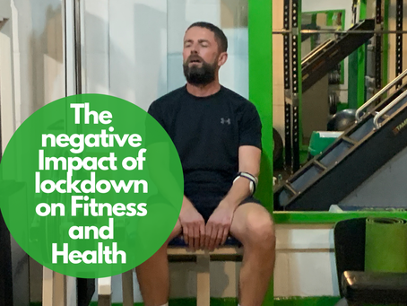 The negative effects of lockdown on our physical and mental well-being