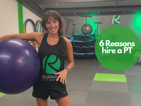 6 reasons why working with a personal trainer is the answer you've been looking for.