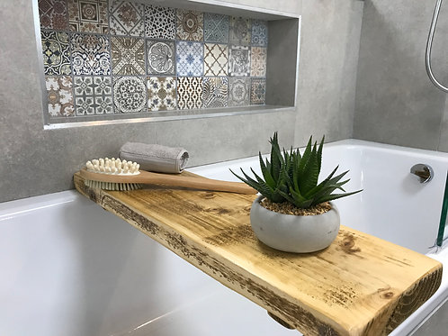 Rustic Bath Board