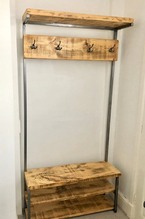Foundry Collection Coat Stand - with hat shelf