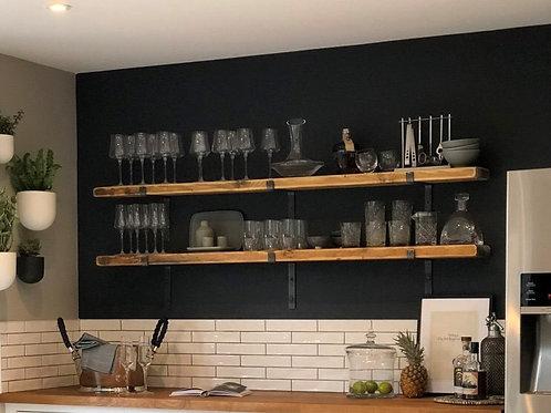 Extra Deep Shelf with Brackets