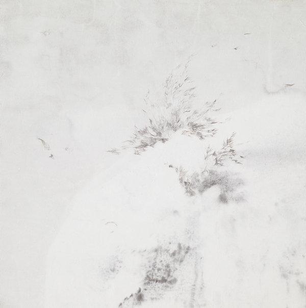 1.유영경_꿈꾸다-喜_50x50cm_장지에 수묵,한지꼴라주_2016.jp