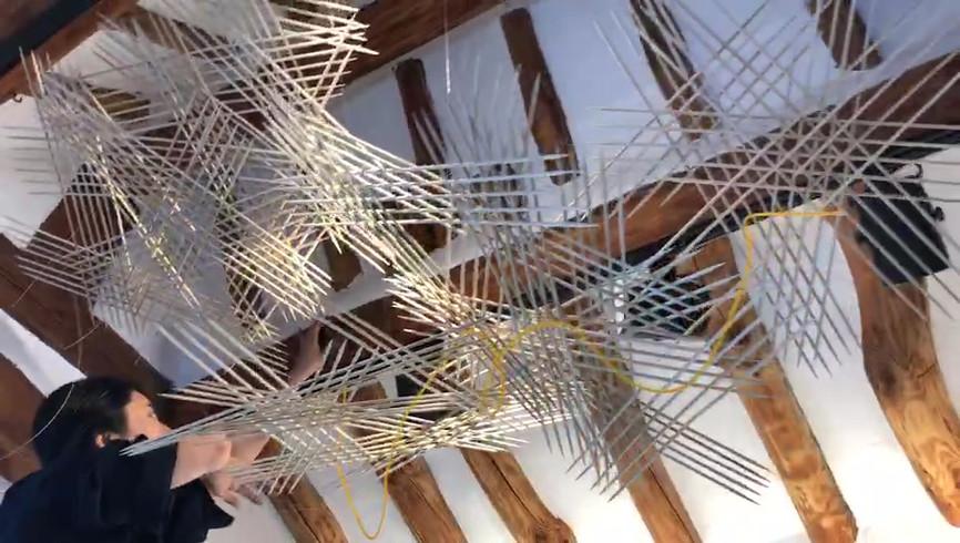 [Nol, Split The Room, Woods, Installation, flexible, 2020]