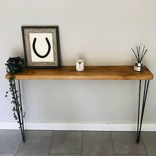 Solid Oak Omni Console Table