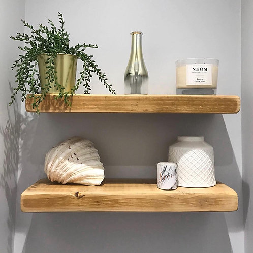 Narrow Chunky Floating Shelf
