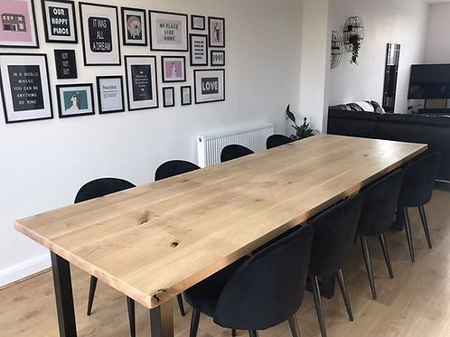 Solid Oak Table Top Substitution