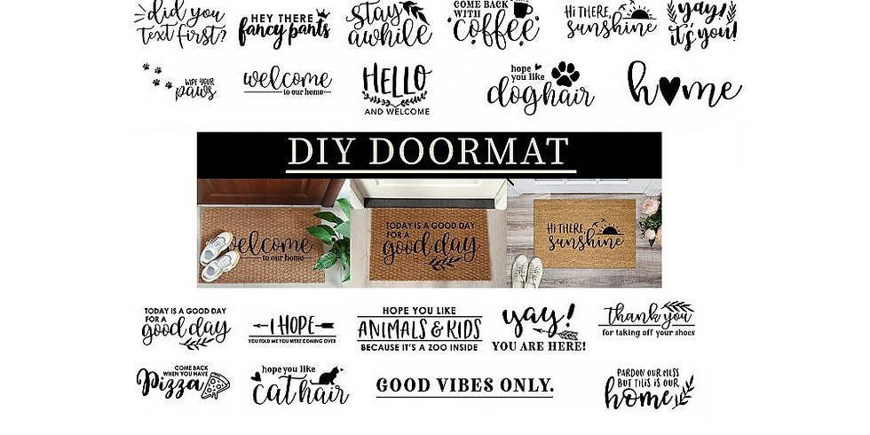 DIY Doormat Workshop