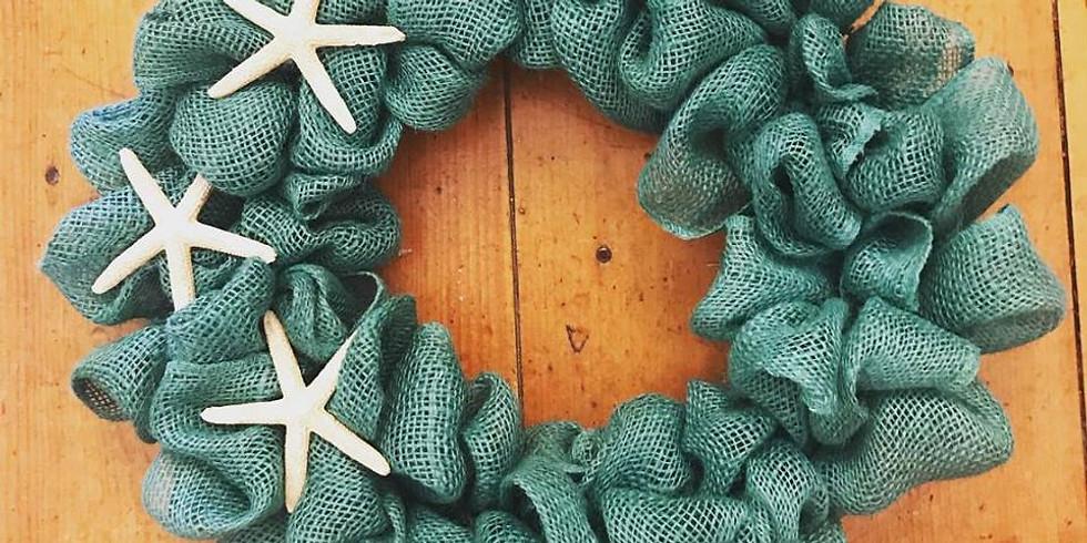 Teal Starfish Wreath Class*