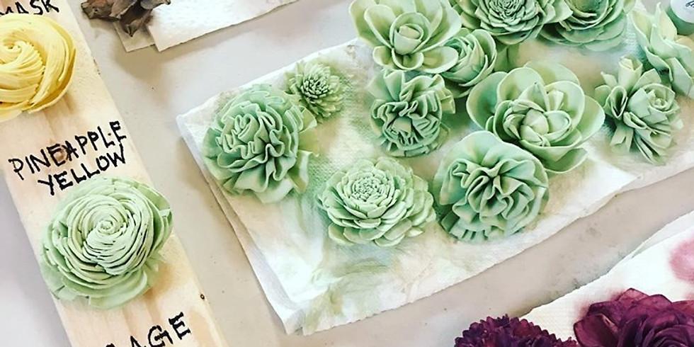 Sola Flower Dyeing Workshop