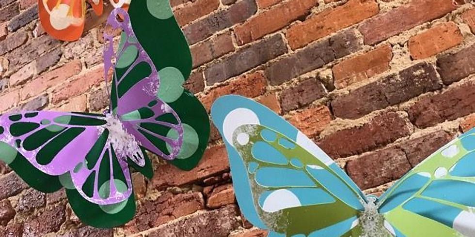 Metal 3D Butterfly Class