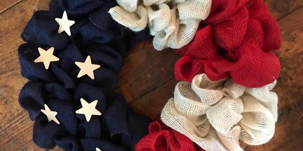 American Flag Wreath Class*