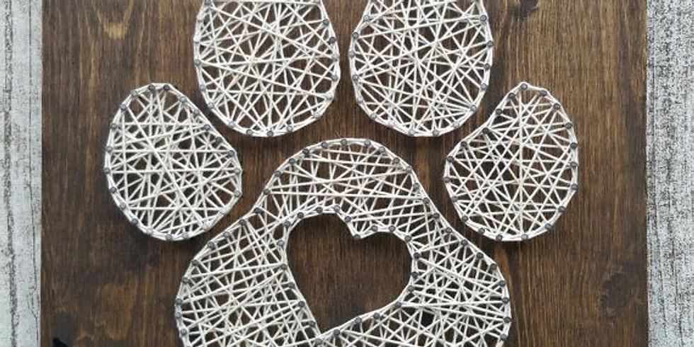 Paw Print String Art Workshop