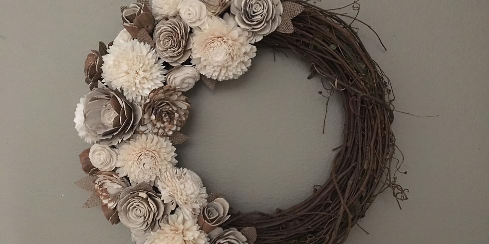 Sola Flower Wreath Class*