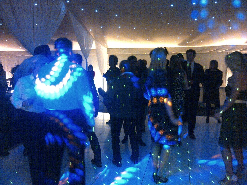 Marquee Wedding Evening Reception