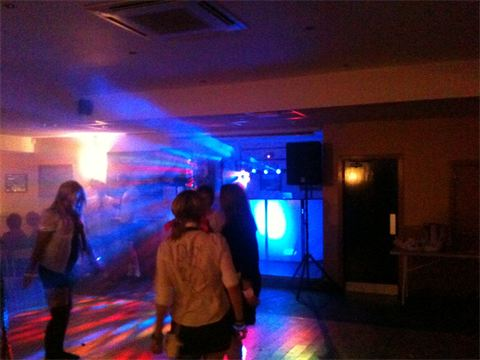 School Disco themed party