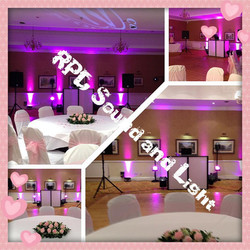Wedding set up montage