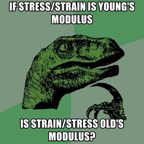 Young's Modulus Meme