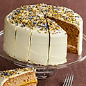 Sicilian Lemon & Earl Grey Layer Cake Slice