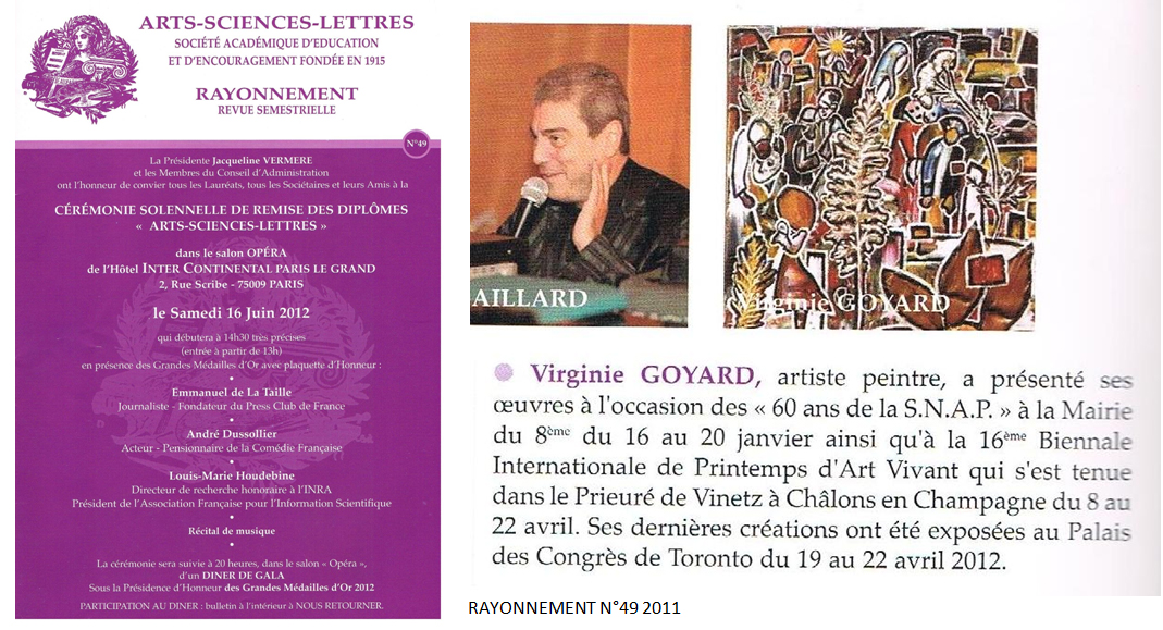 Arts Sciences Lettres n°49