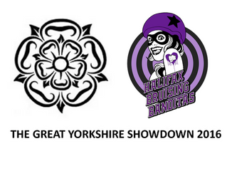 Halifax Bruising Banditas at the Great Yorkshire Showdown