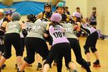 British Champs Round 1 - Halifax Bruising Banditas v Granite City Roller Derby - Report