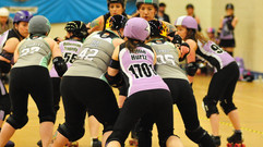 British Champs Round 1 - Halifax Bruising Banditas v Granite City Roller Derby - Report