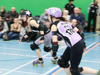 Halifax Bruising Bandits v Hallam Hellcats Roller Derby - Report