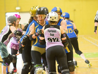Halifax Bruising Banditas v Spa Town Roller Girls - Report