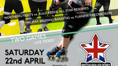 British Champs 2017 - Round 3 - Halifax Bruising Banditas v Furness Firecrackers