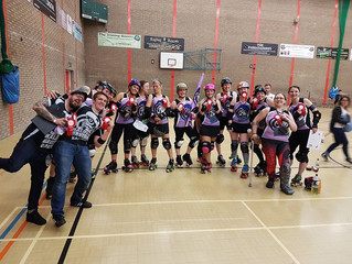 Winning weekend for the Bruising Banditas at Great Yorkshire Showdown