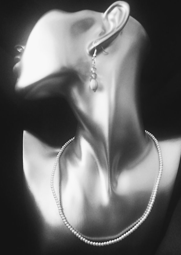 Sea Pearl Single Strand Necklace