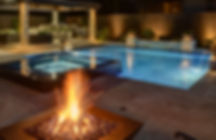 Custom Swimming Pool, Custom OutdoorKitchen, Swimming Pool and Fir Pit, Swimmin Pool an Water Features, Scuppers