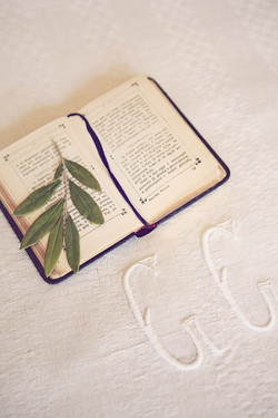Italian Prayer Book and Olive Branch