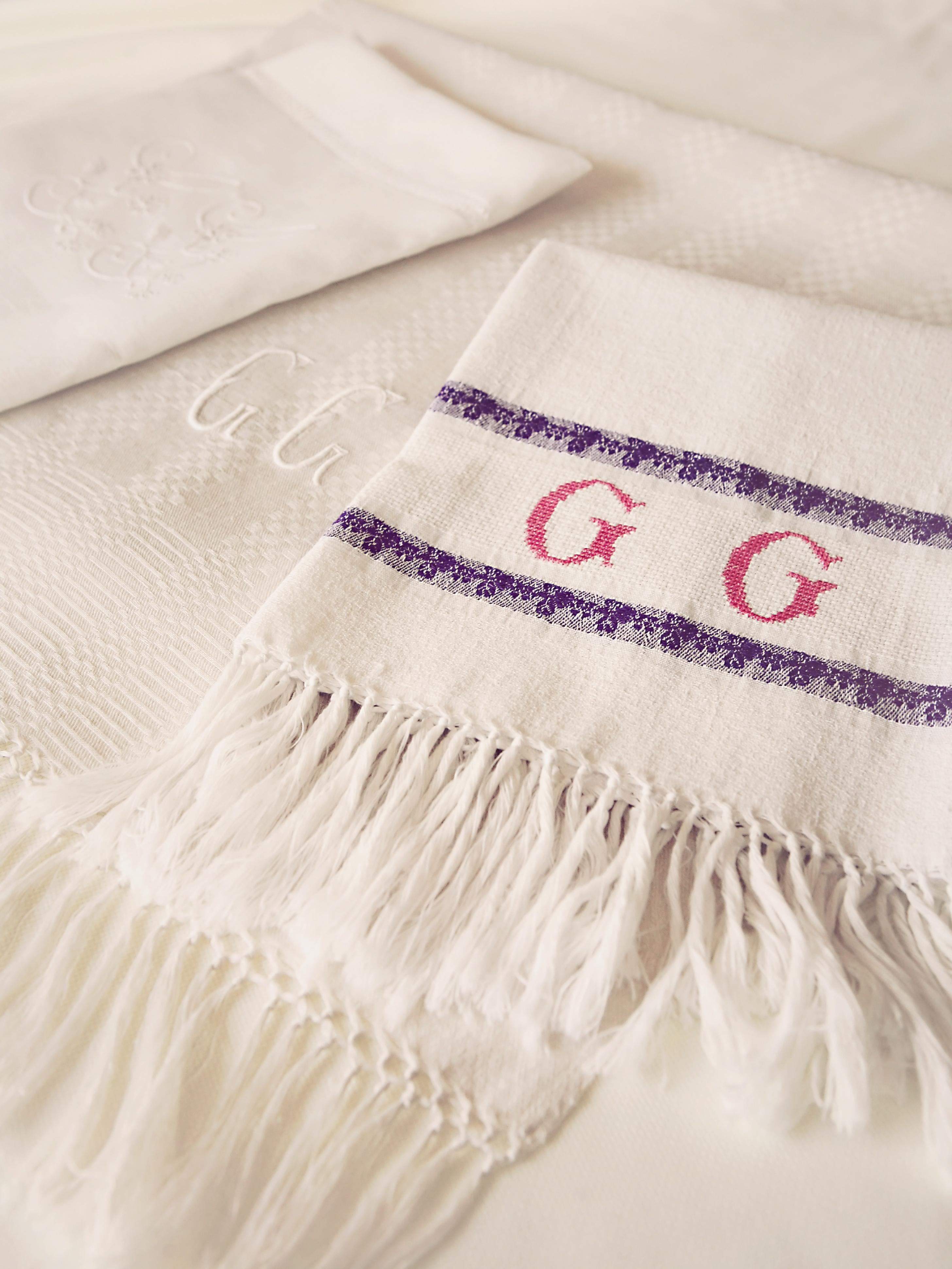 Precious Vintage Linens