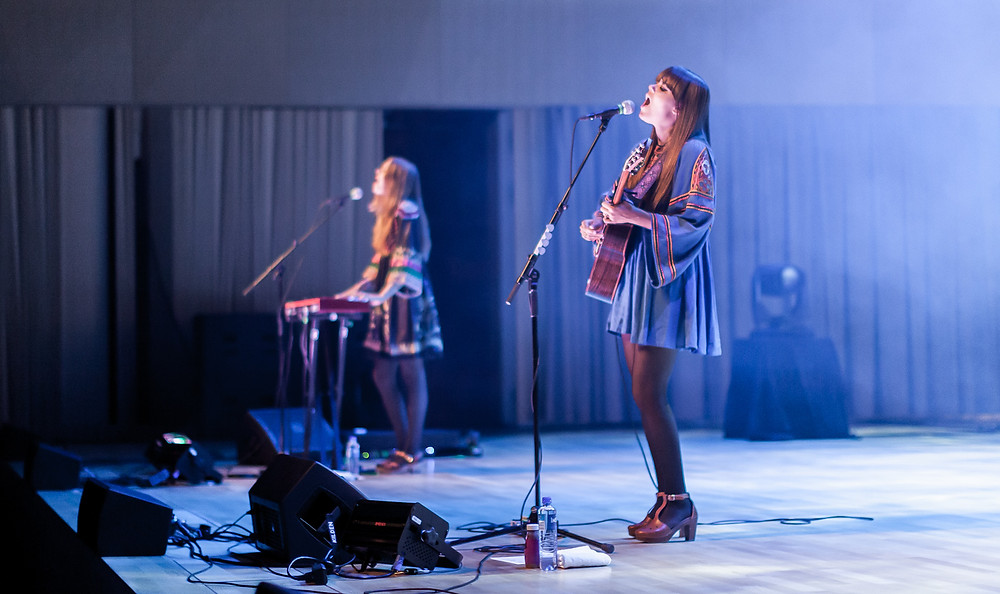 FIRST AID KIT PERFORMING LIVE